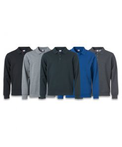 Clique Basic Polo Sweater