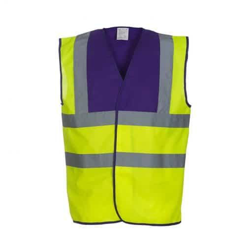 Fluo Yellow/ Purple
